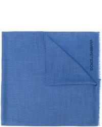 Bufanda azul de Dolce & Gabbana