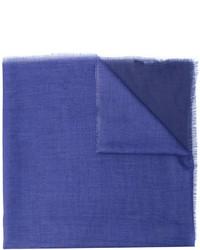 Bufanda azul de Lanvin