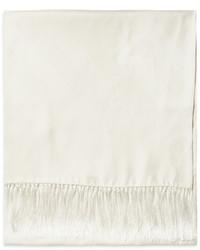 Bufanda blanca de Brooks Brothers