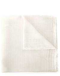 Bufanda blanca de Faliero Sarti