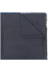 Bufanda de lana a lunares azul marino de Dolce & Gabbana