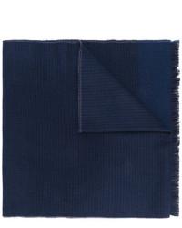 Bufanda de lana azul marino de Church's