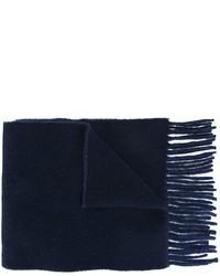 Bufanda de lana azul marino de Polo Ralph Lauren