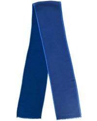 Bufanda de lana azul de Hackett