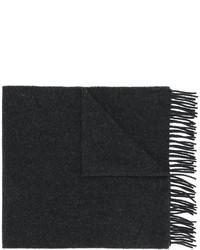 Bufanda de lana en gris oscuro de A.P.C.