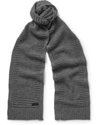 Bufanda de lana en gris oscuro de Belstaff