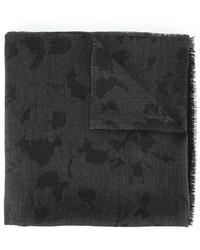 Bufanda de lana en gris oscuro de Lanvin