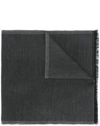 Bufanda de lana en gris oscuro de Tom Ford