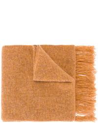 Bufanda de lana en tabaco de AMI Alexandre Mattiussi