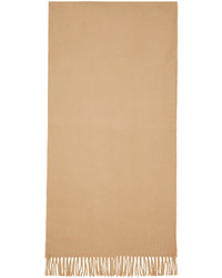 Bufanda de lana marrón claro de A.P.C.