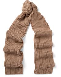 Bufanda de lana marrón claro de J.W.Anderson