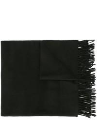 Bufanda de lana negra de AMI Alexandre Mattiussi