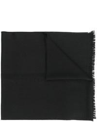 Bufanda de lana negra de Emporio Armani