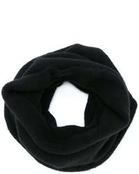 Bufanda de lana negra de Isabel Benenato