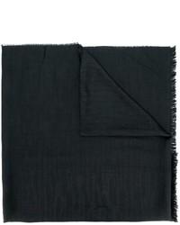 Bufanda de lana negra de Lanvin