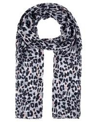 Bufanda de Leopardo Negra de Ichi