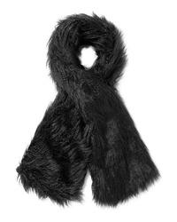 Bufanda de pelo negra de Emma Brewin