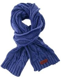 Bufanda de punto azul de Pepe Jeans