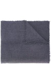 Bufanda de punto en gris oscuro de Faliero Sarti