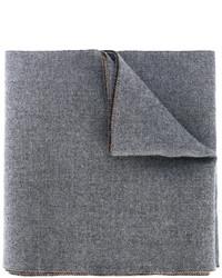 Bufanda de punto gris de Gucci