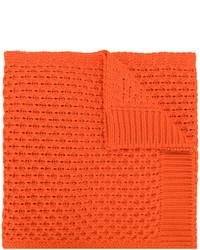 Bufanda de punto naranja de Calvin Klein
