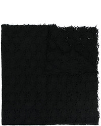 Bufanda de Punto Negra de Faliero Sarti