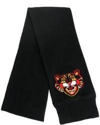 Bufanda de punto negra de Gucci