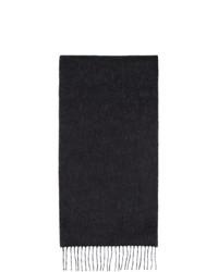 Bufanda de punto negra de Loewe