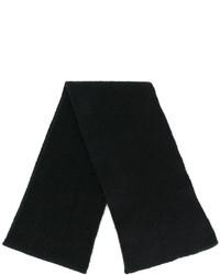 Bufanda de Punto Negra de Roberto Collina