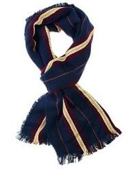 Bufanda de rayas verticales azul marino de Pepe Jeans