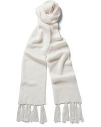 Bufanda de seda blanca de Kilgour
