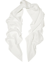 Bufanda de seda blanca de Lanvin
