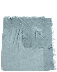 Bufanda de seda celeste de Faliero Sarti