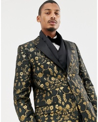 Bufanda de seda negra de Twisted Tailor