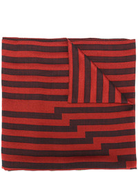 Bufanda de seda roja de Etro