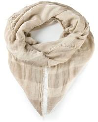 Bufanda en beige de Faliero Sarti
