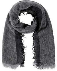 Bufanda en gris oscuro