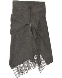 Bufanda en gris oscuro de Bless