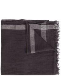 Bufanda en gris oscuro de Faliero Sarti