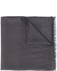 Bufanda en gris oscuro de Fendi