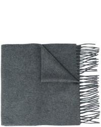 Bufanda en gris oscuro de Lanvin