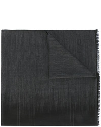 Bufanda en gris oscuro de Salvatore Ferragamo