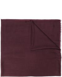 Bufanda en marrón oscuro de Salvatore Ferragamo