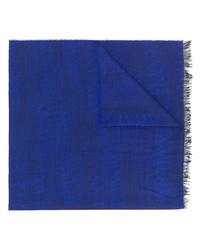 Bufanda estampada azul de Armani Jeans