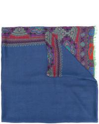 Bufanda Estampada Azul de Etro
