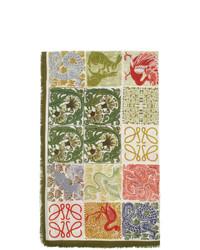 Bufanda estampada en multicolor de Loewe