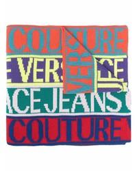 Bufanda estampada en multicolor de VERSACE JEANS COUTURE