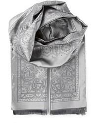 Bufanda estampada gris de Etro