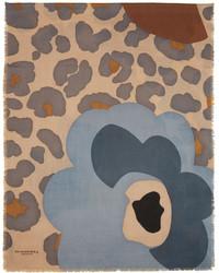 Bufanda estampada marrón claro de Burberry