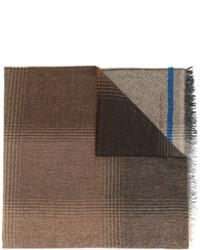 Bufanda estampada marrón de Etro